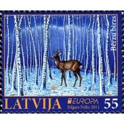 Lettonie N° 0776 N**