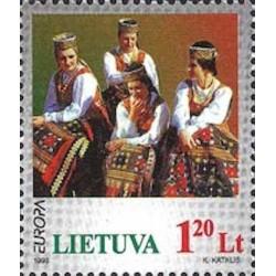 Lituanie N° 0580 N**