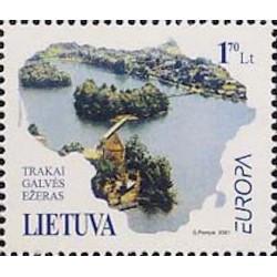 Lituanie N° 0662 N**