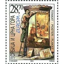 Serbie-Monténégro N° 2956 N**