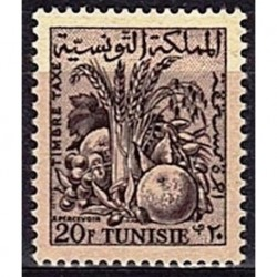 Tunisie N° TA72 N**