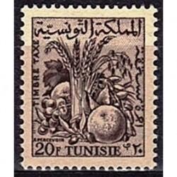 Tunisie N° TA72 N*