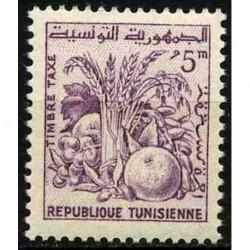 Tunisie N° TA78 N*