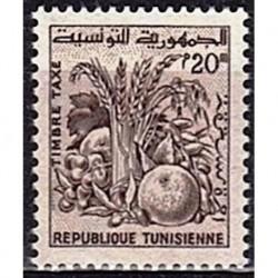 Tunisie N° TA80 N*