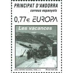 Andorre espagnol N° 0291 N**