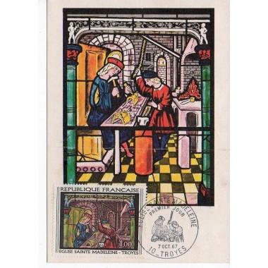 Carte P J du N° 1531