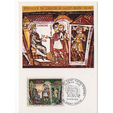 Carte P J du N° 1588