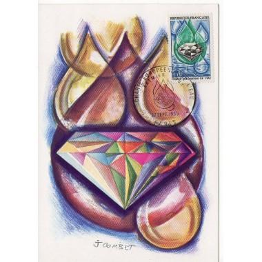 Carte P J du N° 1612