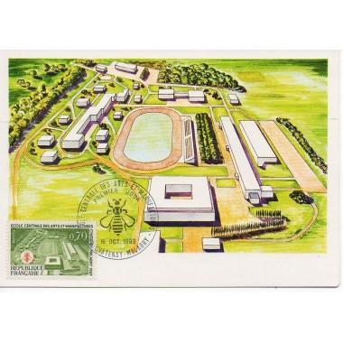 Carte P J du N° 1614