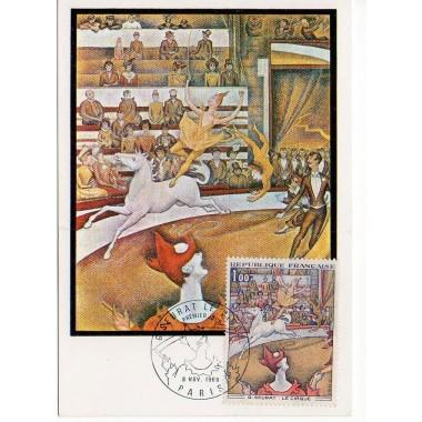 Carte P J du N° 1588A