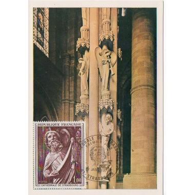 Carte P J du N° 1654