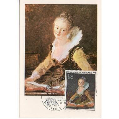 Carte P J du N° 1702