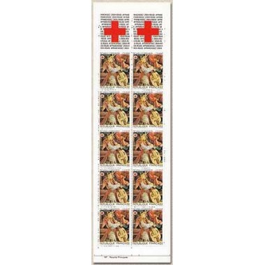Carnet Croix rouge de 1985