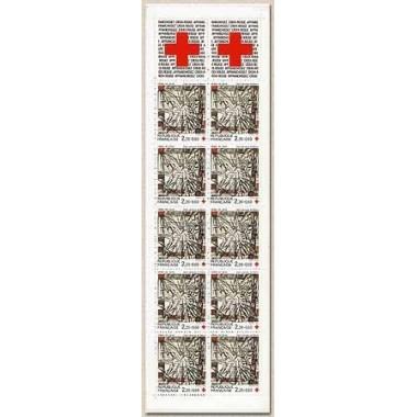 Carnet Croix rouge de 1986