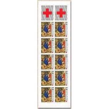 Carnet Croix rouge de 1987