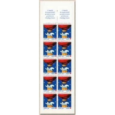 Carnet Croix rouge de 1996