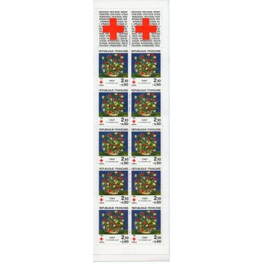 Carnet Croix rouge de 1984
