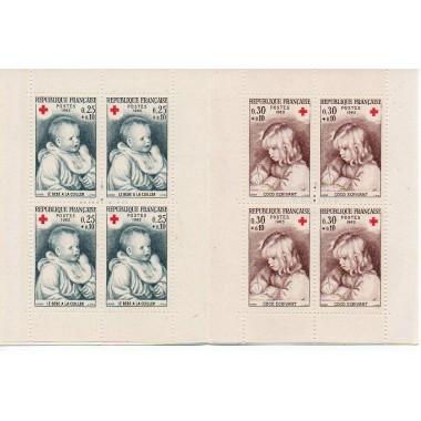 Carnet Croix rouge de 1965