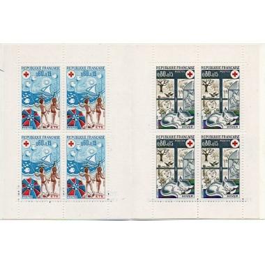 Carnet Croix rouge de 1974