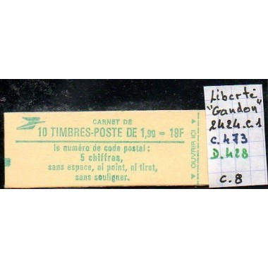 Carnet moderne 2424 C1