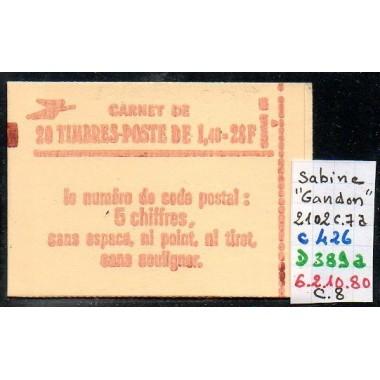 Carnet moderne 2102 C7a