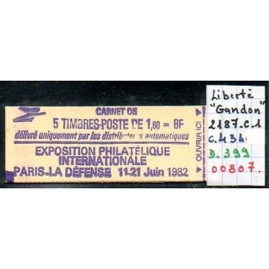 Carnet moderne 2187 C1