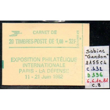 Carnet moderne 2155 C4