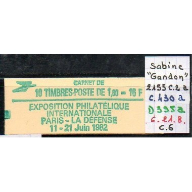 Carnet moderne 2155 C2a