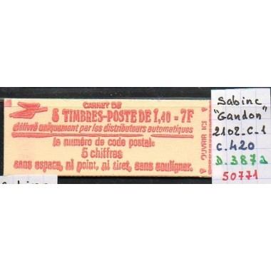 Carnet moderne 2102 C1