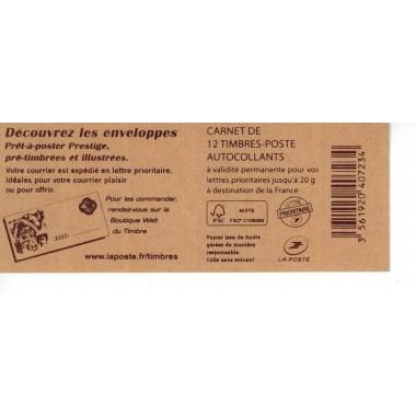 Carnet Moderne N° 0590C15