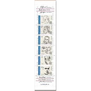 Carnet commemoratif 2687