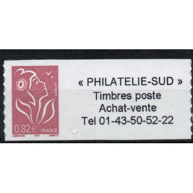 Timbre personnalise N° 3802B2