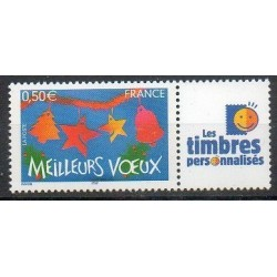 Timbre personnalise N° 3725A1