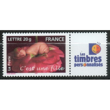 Timbre personnalise N° 3804A2
