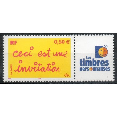 Timbre personnalise N° 3636A