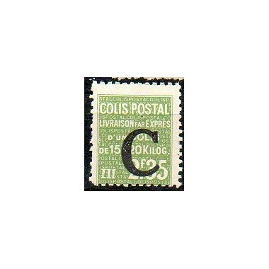 Colis Postaux Neuf **  N° 117