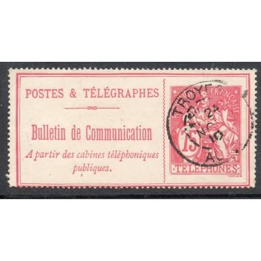 Telephone  N° 28 oblitere