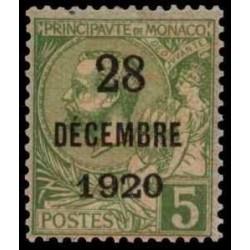 Monaco Neuf ** N° 0048