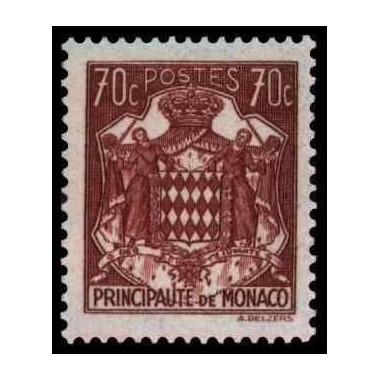 Monaco Neuf ** N° 0254