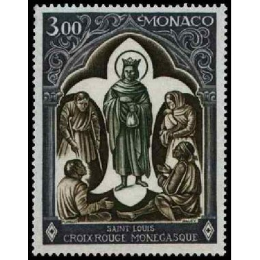 Monaco Neuf ** N° 0818