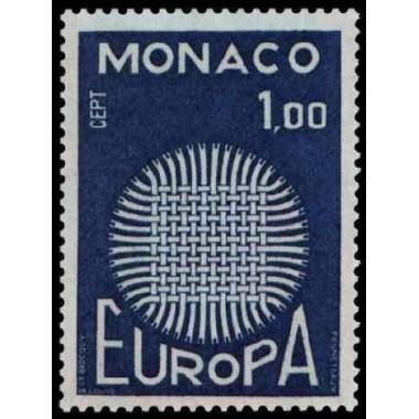 Monaco Neuf ** N° 0821