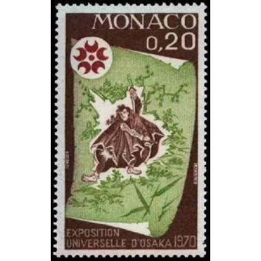 Monaco Neuf ** N° 0822