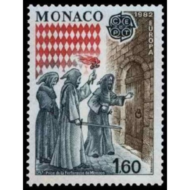 Monaco Neuf ** N° 1322