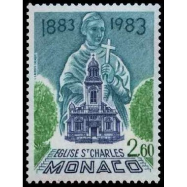 Monaco Neuf ** N° 1368