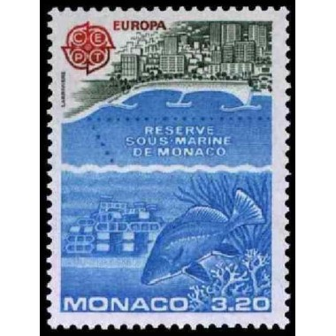 Monaco Neuf ** N° 1521