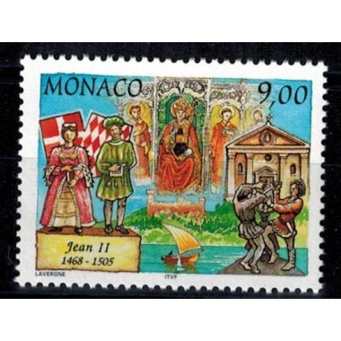 Monaco Neuf ** N° 2099