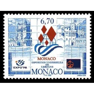 Monaco Neuf ** N° 2172