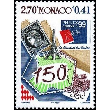 Monaco Neuf ** N° 2207