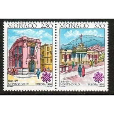 Monaco Neuf ** N° 1724/25