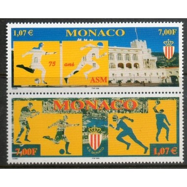 Monaco Neuf ** N° 2196/97